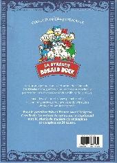 Verso de La dynastie Donald Duck - Intégrale Carl Barks -1- Sur les traces de la licorne et autres histoires (1950-1951)