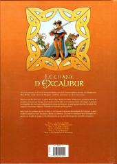 Verso de Le chant d'Excalibur -6- Les Gardiennes de Brocéliande