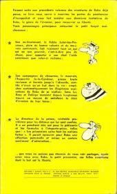 Verso de Bobo -8GP- Bobo et l'amie pierre