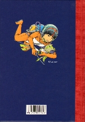 Verso de Yoko Tsuno -HS2TT- Missives spatiales