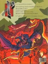 Verso de Les crocs d'ébène -1- L'ère du dragon