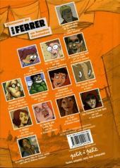 Verso de Chansons en Bandes Dessinées  - Chansons de Nino Ferrer en bandes dessinées