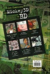 Verso de Chansons en Bandes Dessinées  - Les Chansons de Mickey 3D en BD