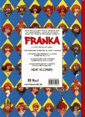 Verso de Franka (BD Must) -11TT05- Le Vol de l'Atlantis