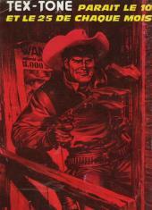 Verso de Tex-Tone -334- L'erreur de Tex-Tone
