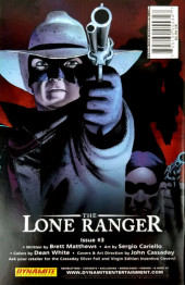 Verso de Lone Ranger Vol.1 (The) (Dynamite - 2006) -2- Issue # 2