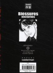 Verso de Blessures nocturnes -4- Volume 4