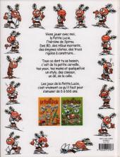 Verso de La petite Lucie -J3- Tome 3