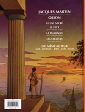 Verso de Orion (Martin) -4- Les oracles