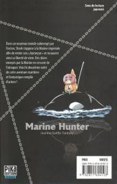 Verso de Marine Hunter -2- Vol. 2