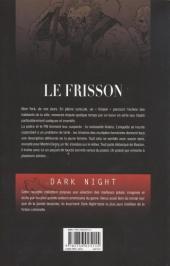 Verso de Le frisson - Le Frisson