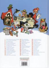 Verso de Spirou et Fantasio -38Ind2011- La Jeunesse de Spirou