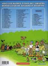 Verso de Sylvain et Sylvette -50Ind- Le Petit Gorille