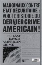 Verso de Last Days of American Crime (The) -3- Tome 3/3
