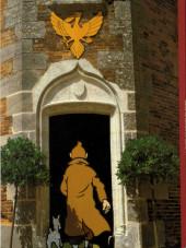 Verso de (AUT) Hergé -Cat- Le Musée imaginaire de Tintin au château de La Chapelle d'Angillon