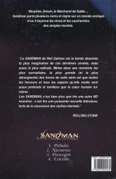 Verso de Sandman (Le Maître des rêves) -4- Eviction