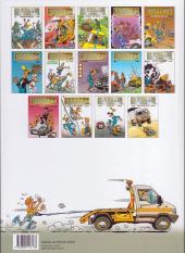 Verso de Garage Isidore -14- Rallye en folie