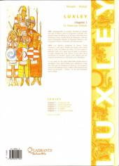 Verso de Luxley -5- Le nouveau monde