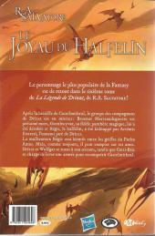 Verso de La légende de Drizzt -6- Le Joyau du Halfelin