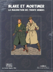 Verso de Blake et Mortimer (Les Aventures de) -INT5 TL1- La Malédiction des trente deniers