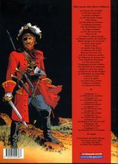 Verso de Barbe-Rouge -32Ind2000- L'ombre du démon