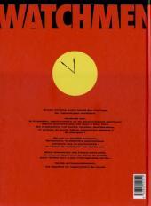 Verso de Watchmen (Les Gardiens) -INT- Les Gardiens