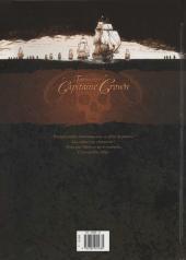 Verso de Le testament du Capitaine Crown -1- Cinq enfants de putain