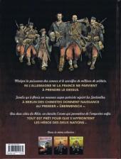Verso de Les sentinelles (Breccia/Dorison) -3- Chapitre troisième : Avril 1915 Ypres