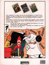 Verso de Tintin - Divers - Tintin