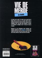 Verso de Vie de merde  -2- Au boulot