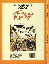 Verso de Félix (Tillieux, Éditions Michel Deligne puis Dupuis, en couleurs) -5- Le tueur fantôme