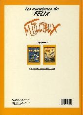 Verso de Félix (Tillieux, Éditions Michel Deligne puis Dupuis, en couleurs) -6- Au pays du matin calme