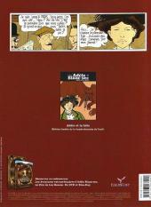 Verso de Adèle Blanc-Sec (Les Aventures Extraordinaires d') -1d- Adèle et la bête
