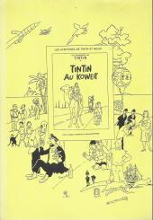 Verso de Tintin - Pastiches, parodies & pirates -15a- L'Énigme du 3e message - 2e partie