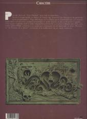 Verso de L'État morbide -2- acte deux : Le Passage Avide