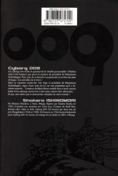 Verso de Cyborg 009 -6- Tome 6