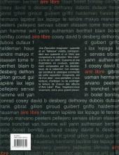 Verso de Aire Libre -1HC- Une exposition imaginaire