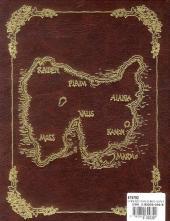 Verso de Chroniques de la guerre de Lodoss -INT- La Dame de Falis