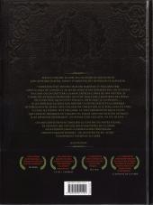 Verso de Double masque -5- Les coqs