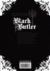 Verso de Black Butler -6- Black Golfer
