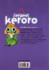 Verso de Sergent Keroro -17- Tome 17
