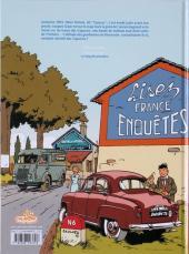 Verso de Jacques Gipar (Une aventure de) -2- Le Retour des Capucins