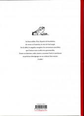 Verso de (AUT) Fred - L'Histoire d'un conteur éclectique