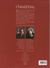 Verso de La légende du Changeling -4- Les lisières de l'ombre