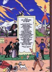 Verso de Tintin - Pastiches, parodies & pirates -19d- Tintin et l'Alph-Art
