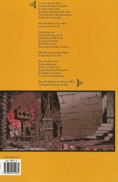 Verso de Le pygargue -1- Tueur de femmes