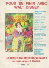 Verso de Série Bleue (Elvifrance) -7- Métempsycose