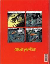 Verso de Grand vampire -2- Mortelles en tête