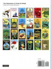 Verso de Tintin (The Adventures of) -8- King Ottokar's Sceptre