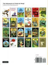 Verso de Tintin (The Adventures of) -10c- The Shooting Star